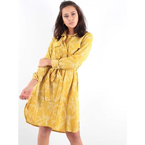 Ambika Topsy dress yellow