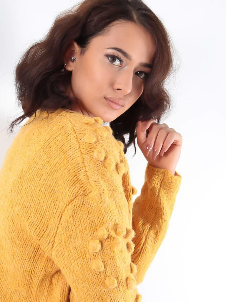Golden Days Sha cardigan yellow