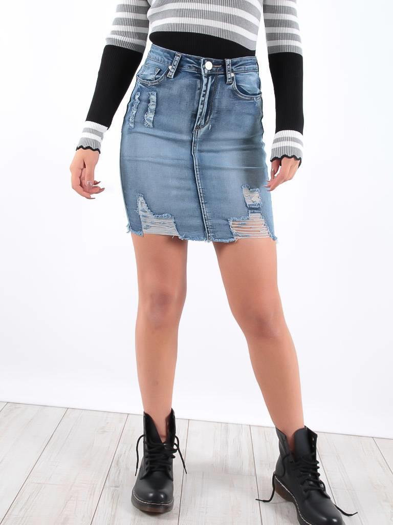 Ivivi Jeans skirt blue