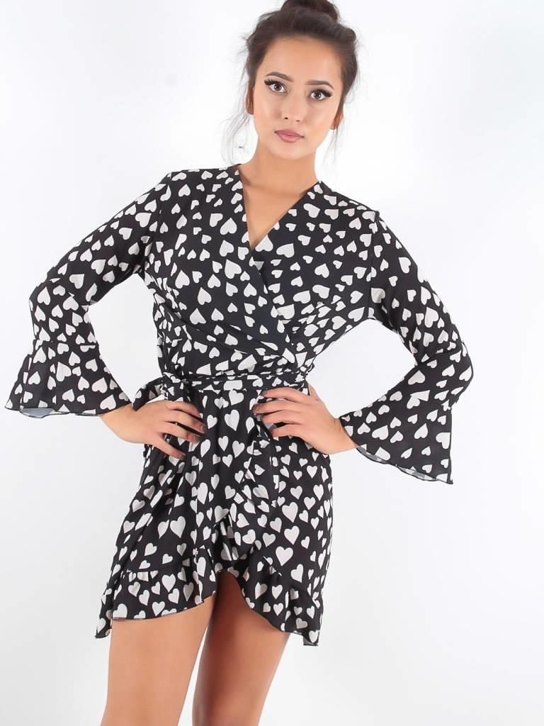 New Collection Hearts dress
