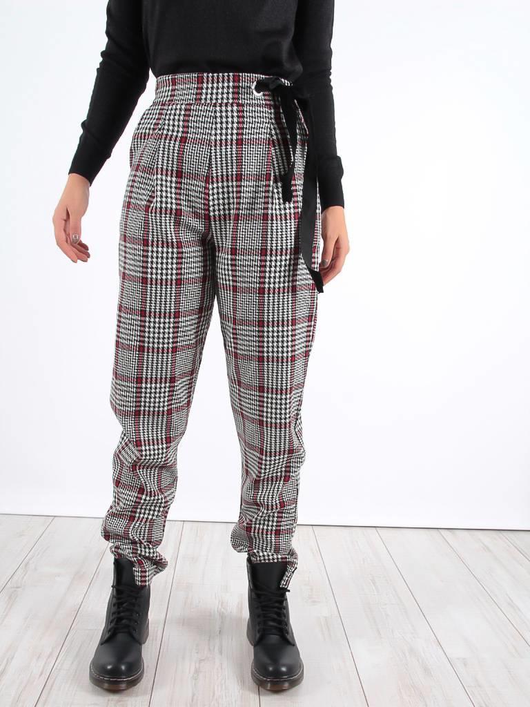 Miss Miss Checker pants bian
