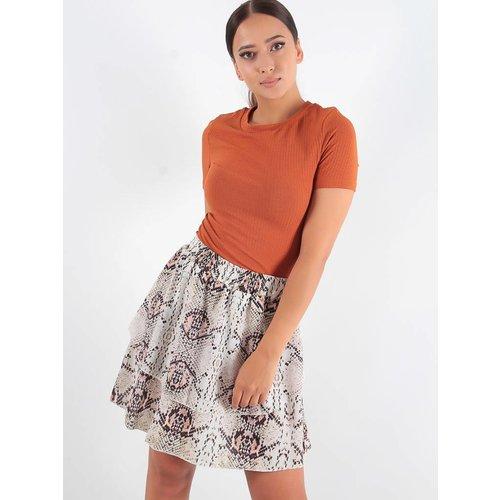 F.Fashion Ria snake skirt