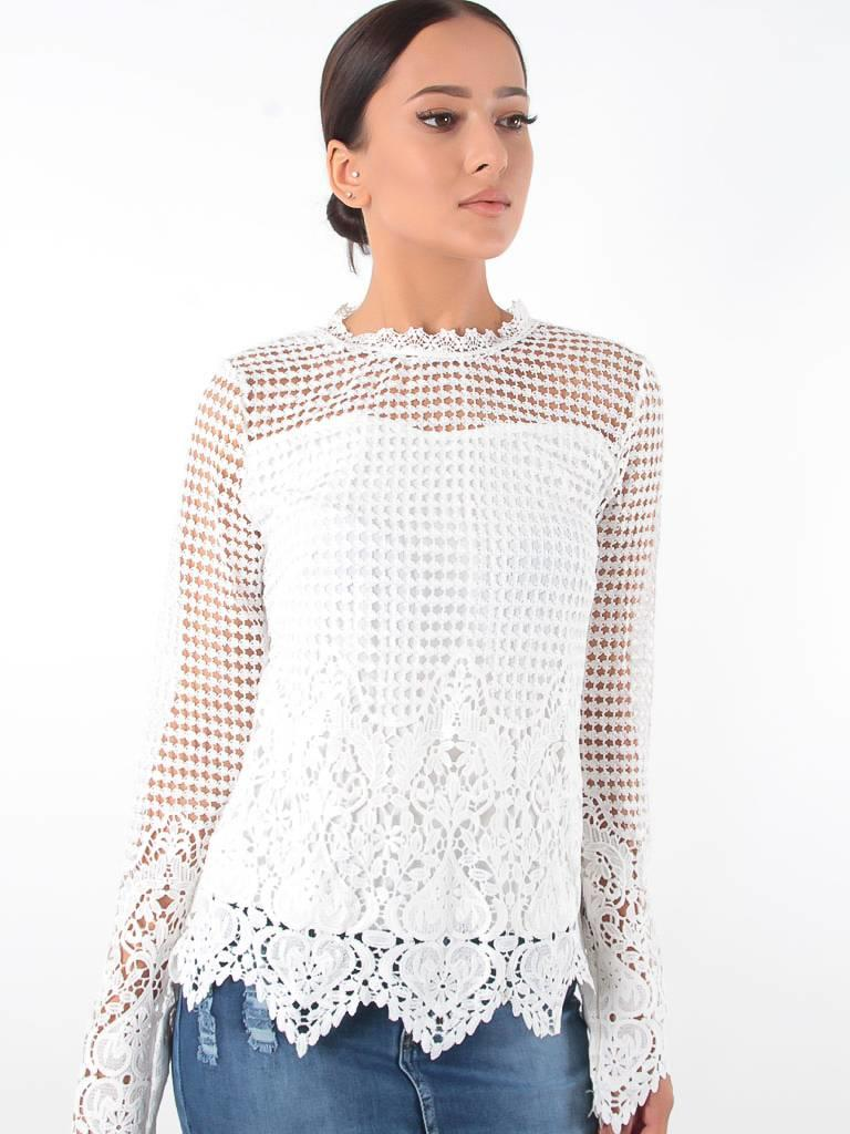 In Vogue Blouse lace