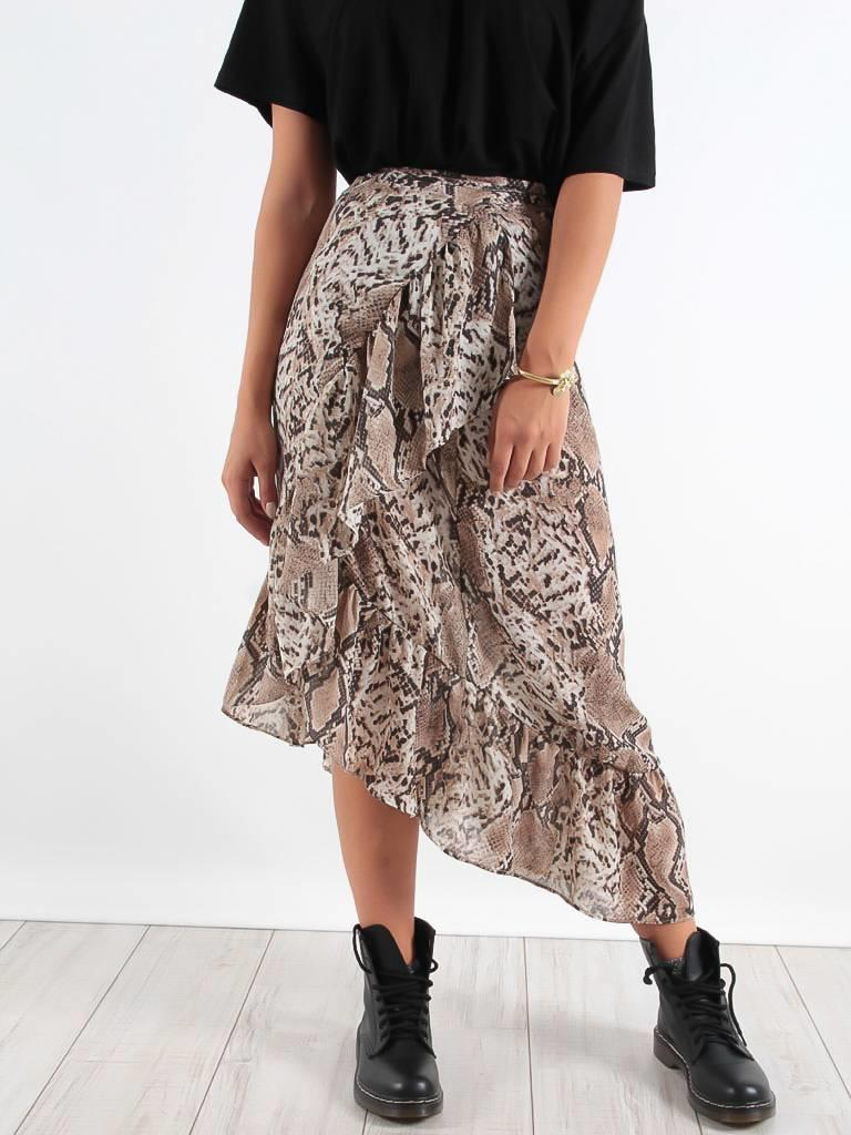 Kilibbi Skirt snake ruffle