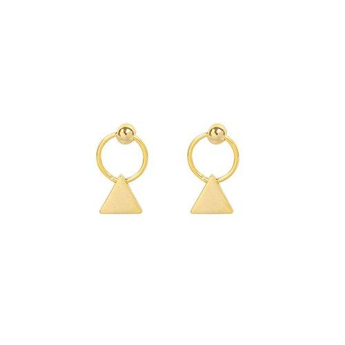 Yehwang Earrings mini triangles