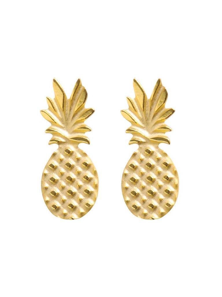Yehwang Earrings sweet pineapple