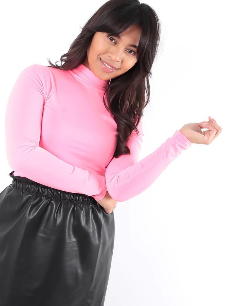 Ladylike Neon pink bodysuit