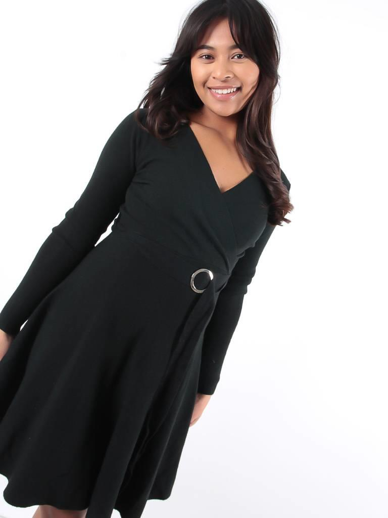 Enzoria Skater dress black