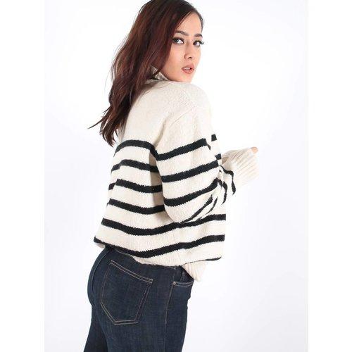Bisou's project Striped jumper