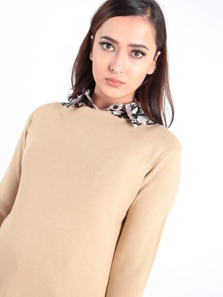 Ladylike Collar snake brown
