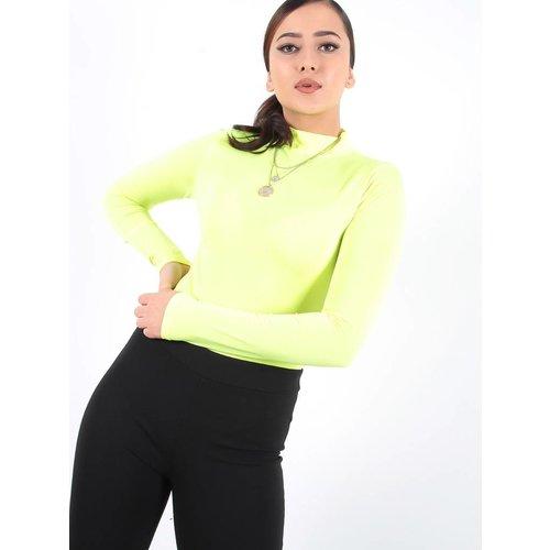 Ladylike Neon green bodysuit