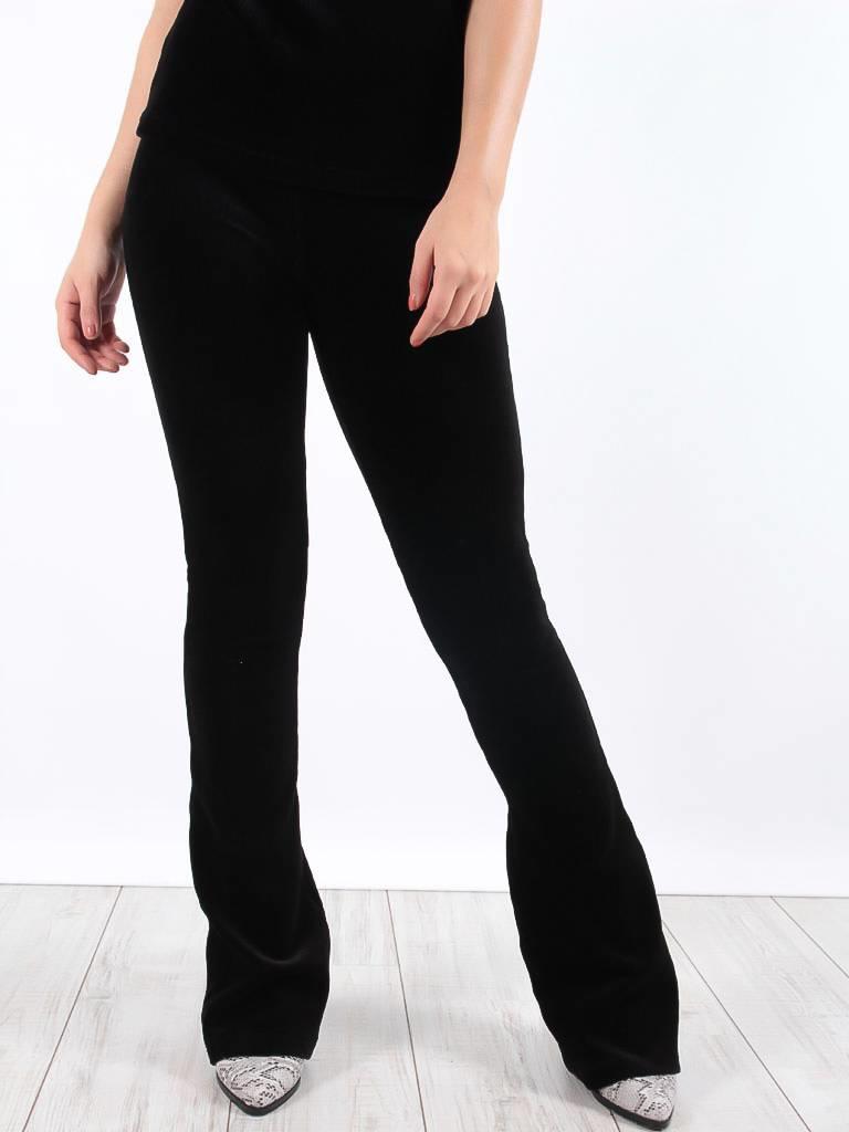 Ambika Cataleya rib pants black