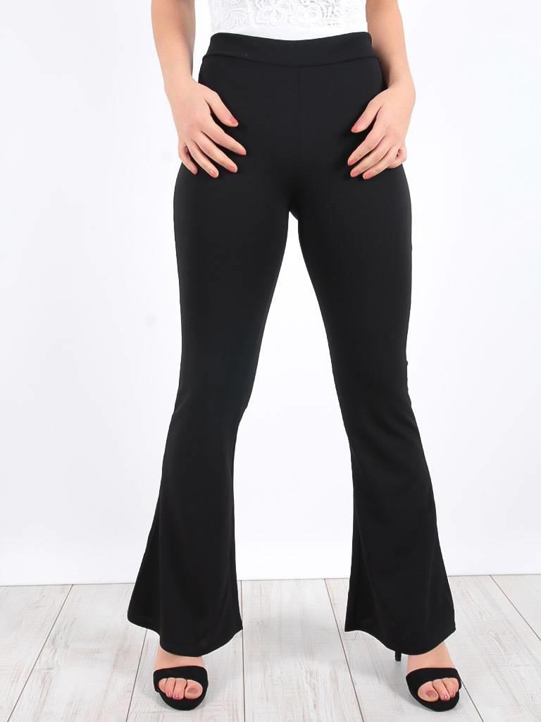 Miss one Basic flared pants