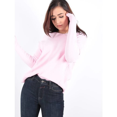 Ladylike Basic soft pink knit jumper