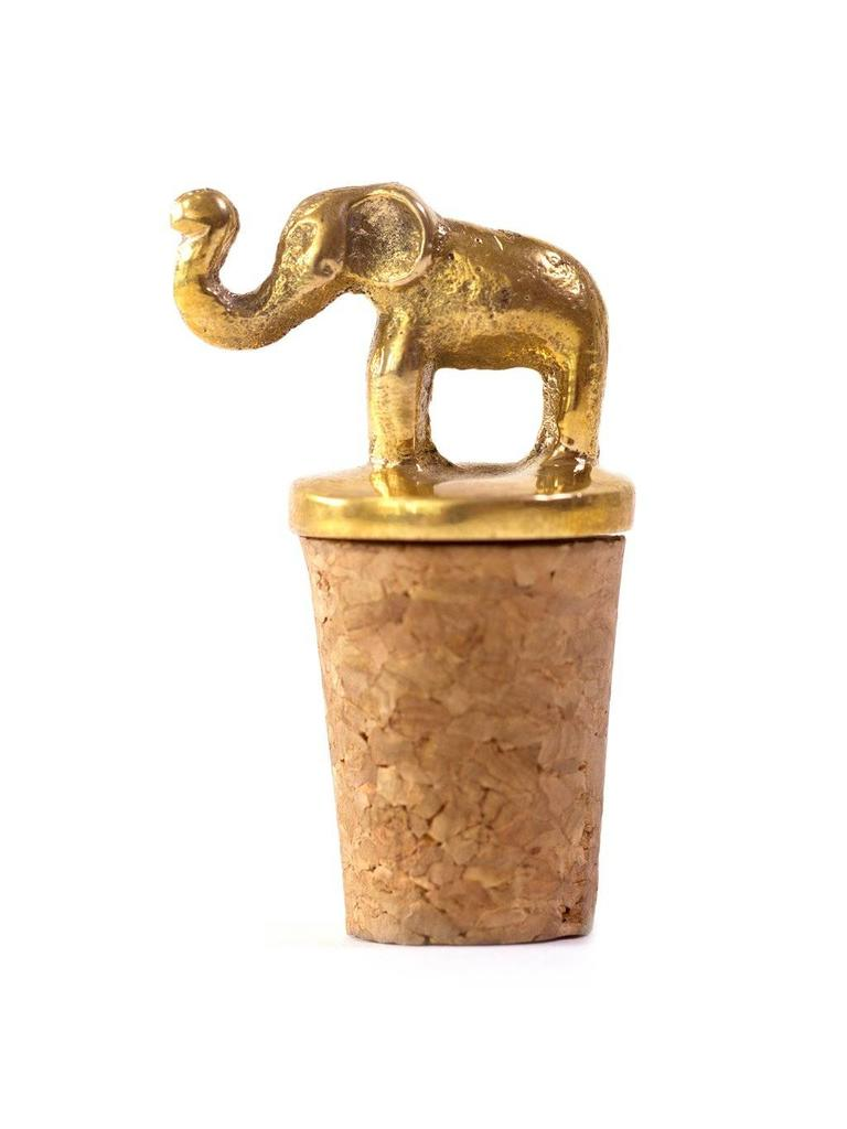 À la Elephant Bottle Stopper