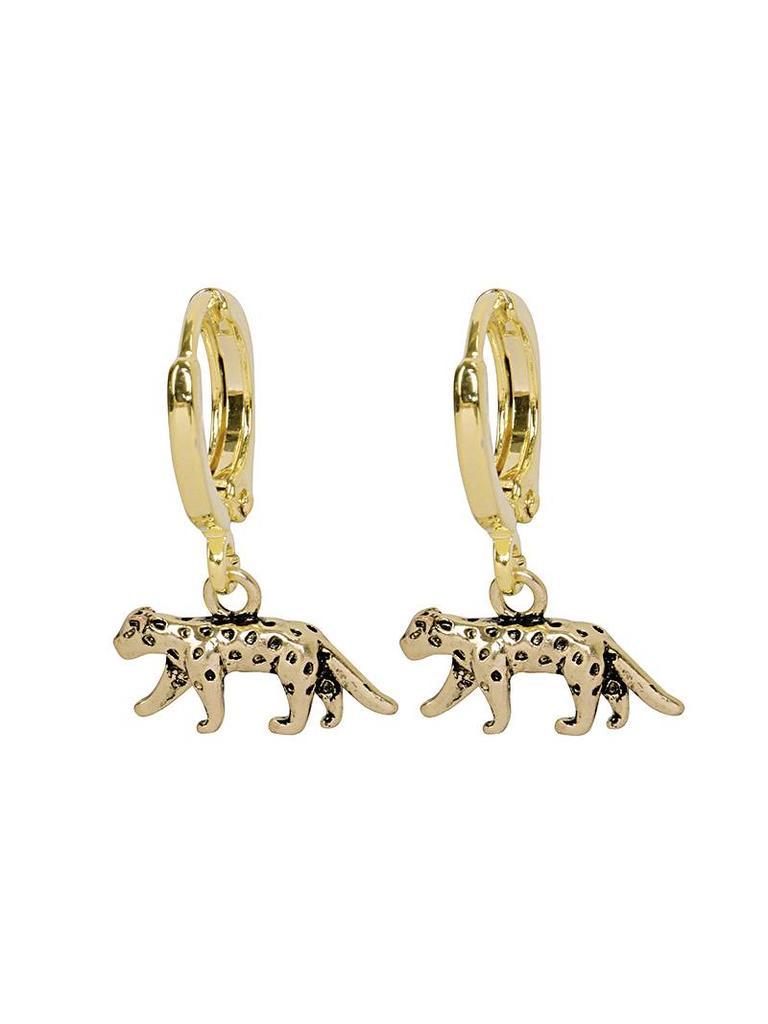 Ladylike Oorbellen Lucky Leopard