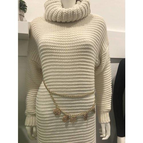 Ladylike Gold chain belt