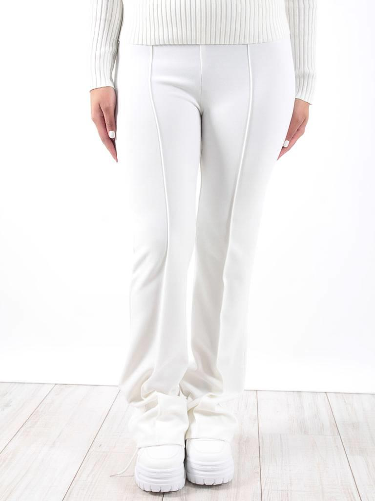 Ivivi White flared trousers