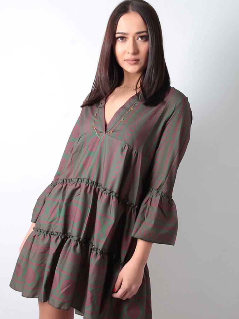 Cherry Koko Dress aztek