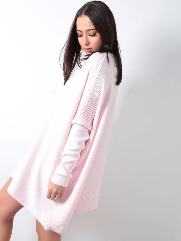 Jumper dress pink