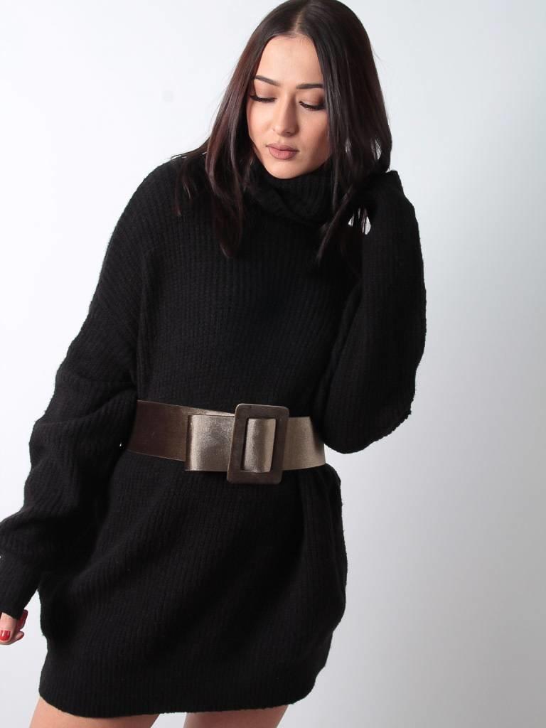 Ladylike Khaki velvet belt
