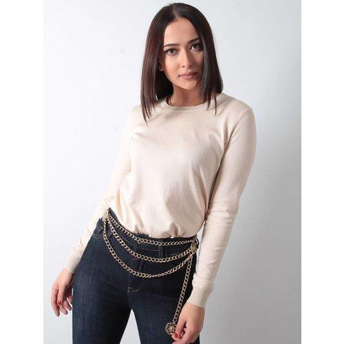 Ladylike Chain belt star gold