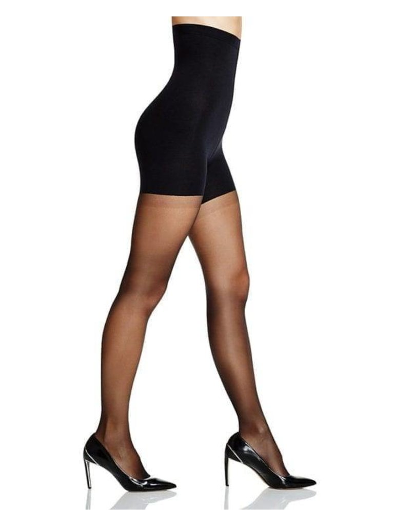 NO-MI bodywear - LADYLIKE FASHION High waist shaping tights 40D black