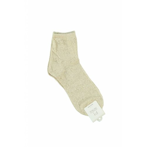 Ladylike Lurex Socks Beige