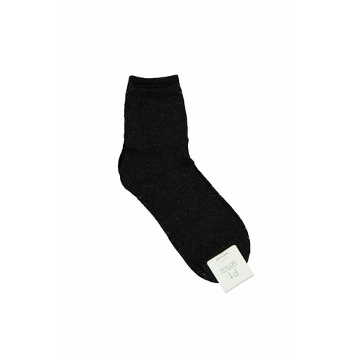 Ladylike Lurex socks black