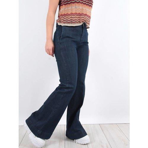 LADYLIKE FASHION Super flared jeans darkblue