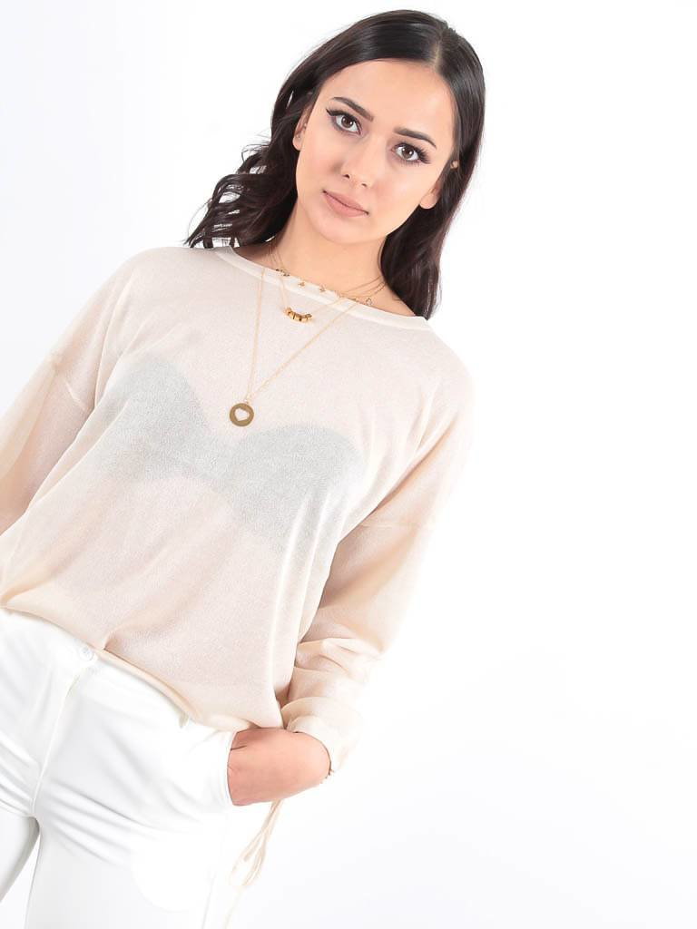 LADYLIKE FASHION Jumper beige
