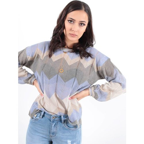 LADYLIKE FASHION Jumper lurex lilac