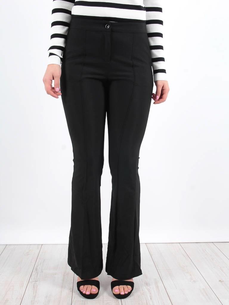LADYLIKE FASHION Flared trousers black