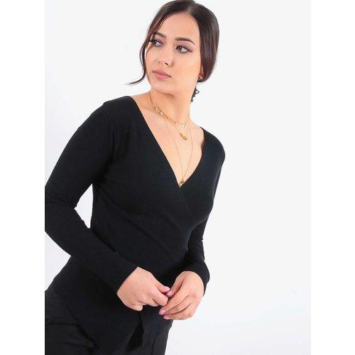 LADYLIKE FASHION Twist jumper black