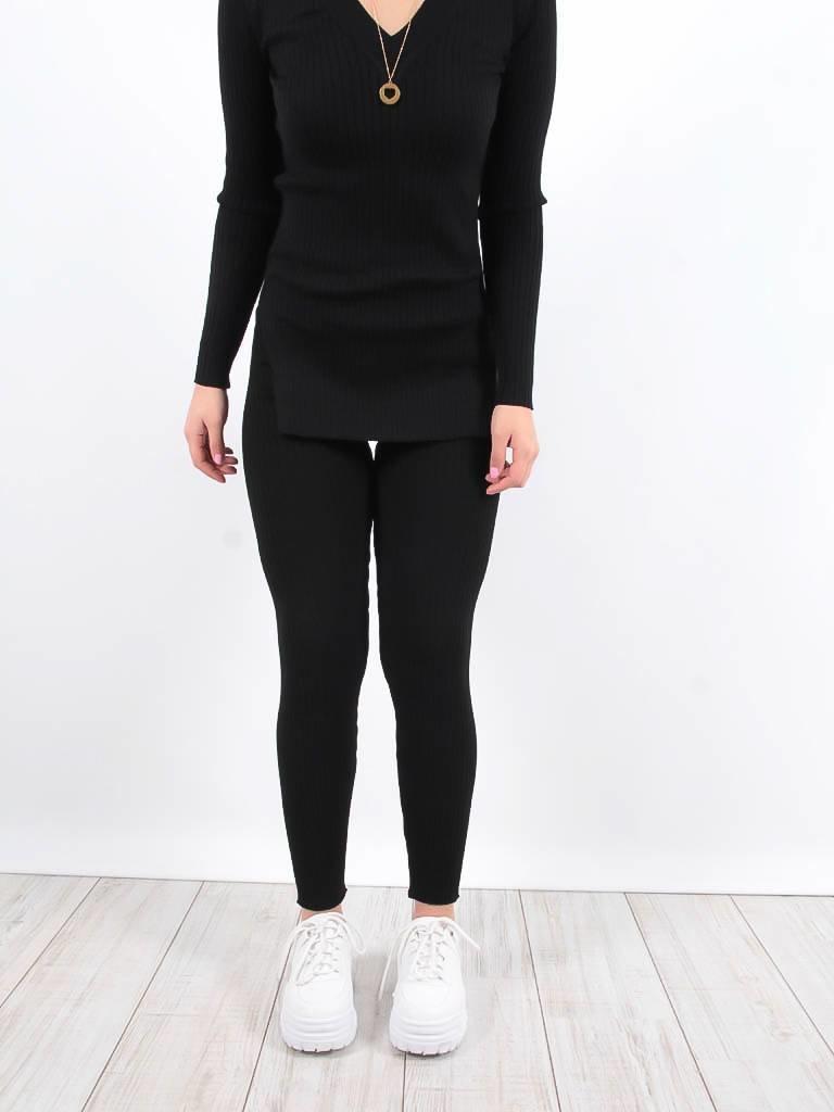 LADYLIKE FASHION Trousers black