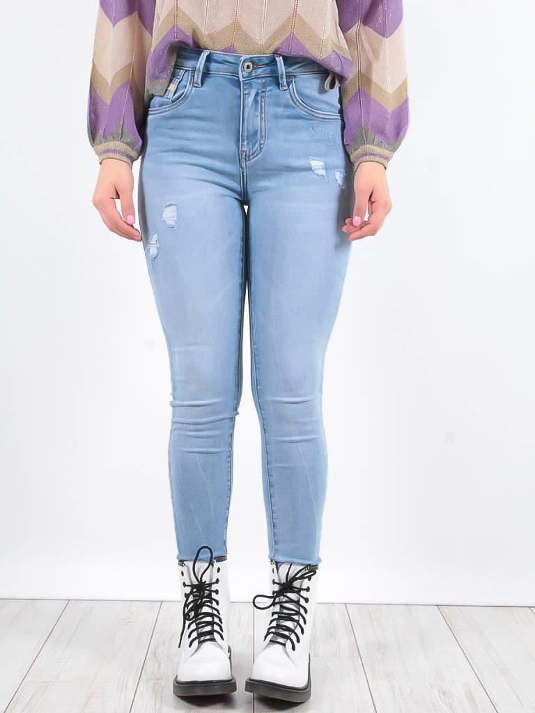 Queen Hearts Queen Hearts jeans light blue