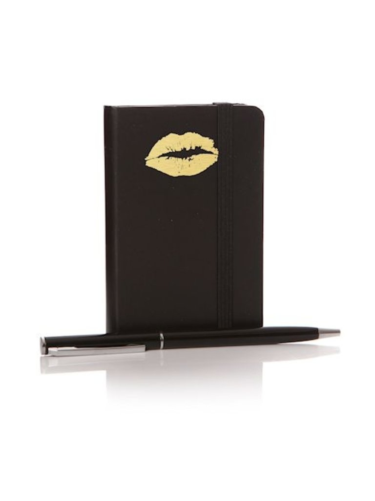 LADYLIKE FASHION Notebook lips with pen