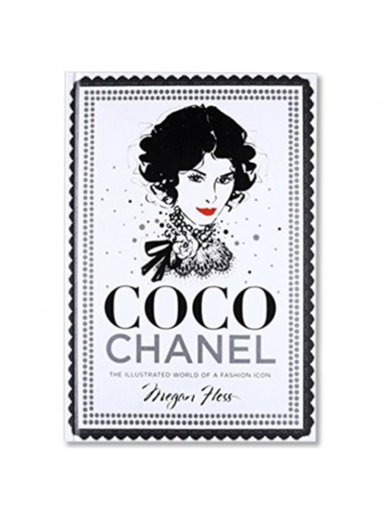 LADYLIKE FASHION Coco Chanel: The Illustrated World of a Fashion icon book
