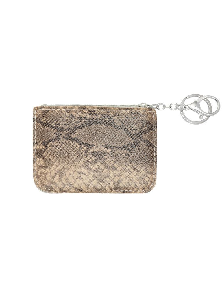 LADYLIKE FASHION Wallet snake skin beige