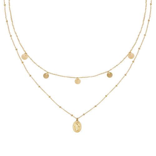 LADYLIKE FASHION Necklace Mary go round