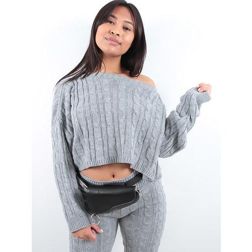 LADYLIKE FASHION Waist bag black