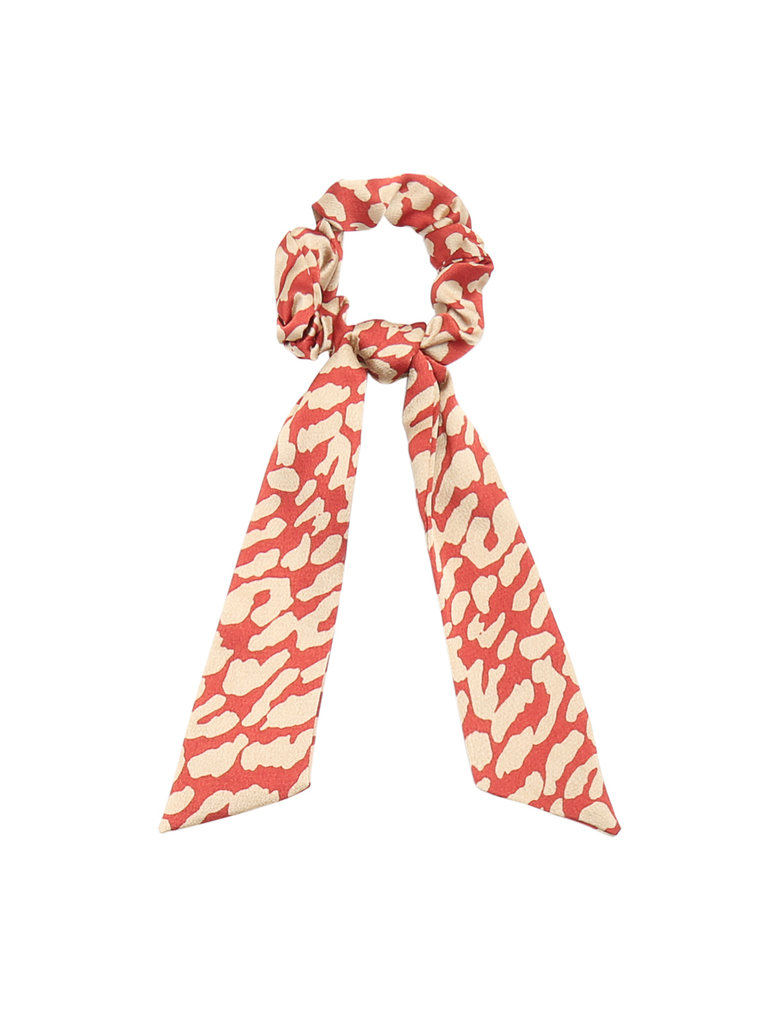 LADYLIKE FASHION Scrunchie Making a Bow Red