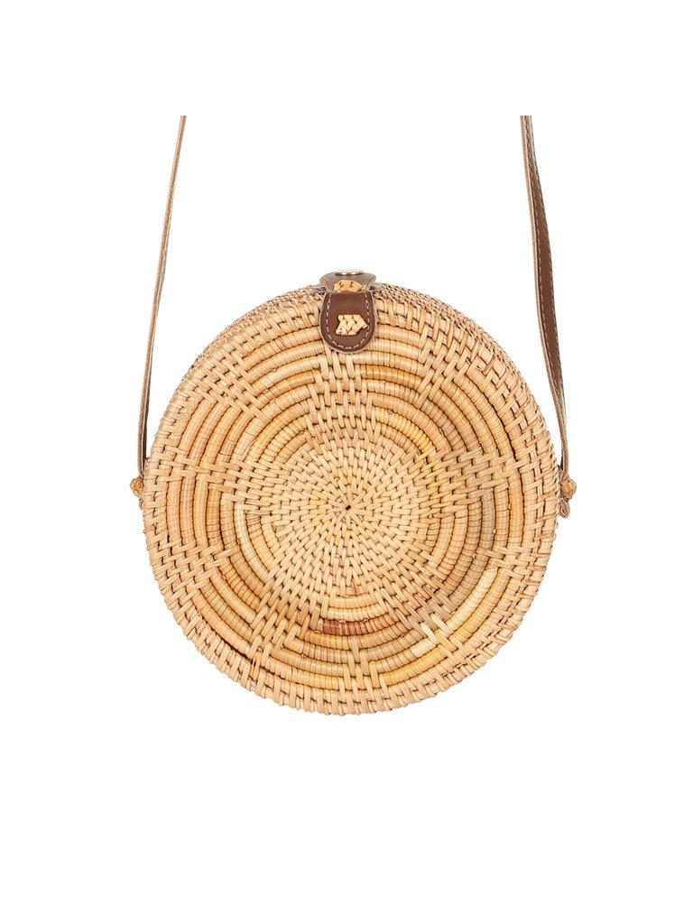 LADYLIKE FASHION Rotan woven star bag