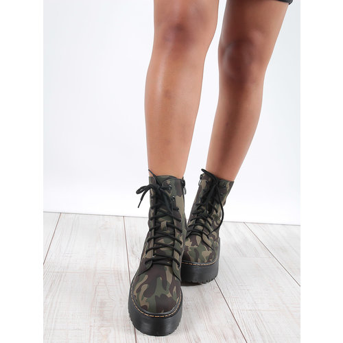 LADYLIKE FASHION Camouflage boots