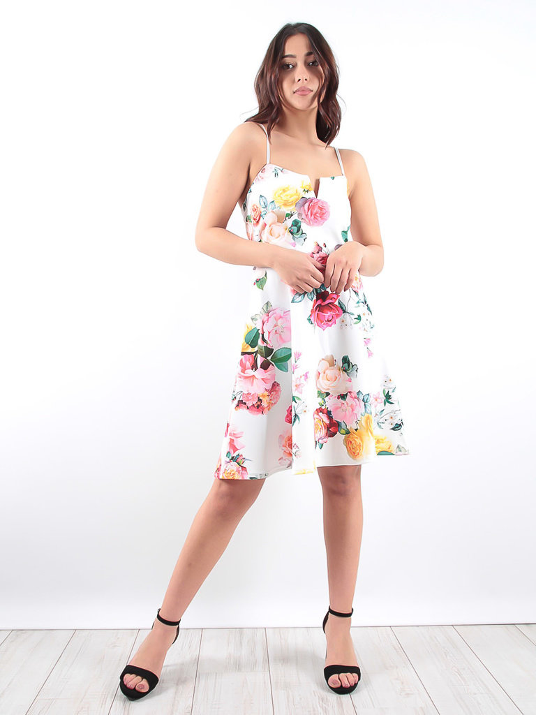 LADYLIKE FASHION Floral Skater Dress