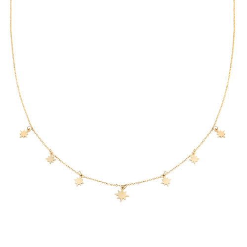 LADYLIKE FASHION Necklace counting stars