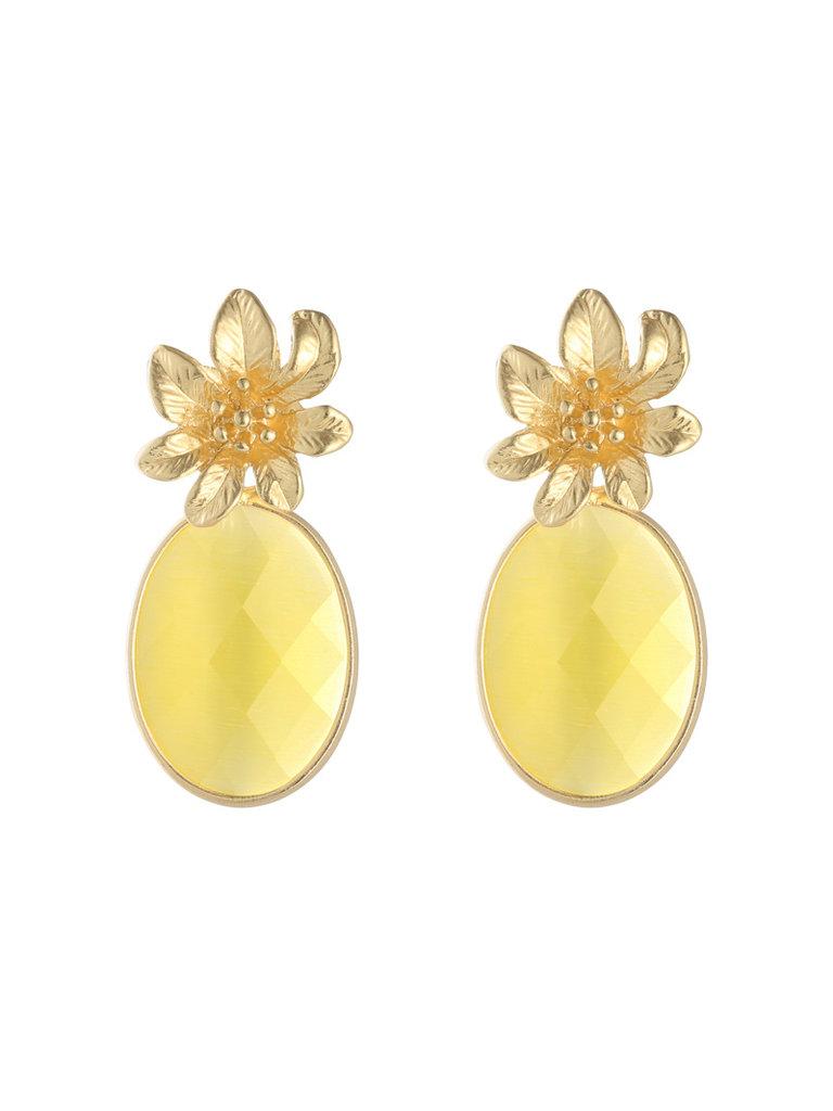 LADYLIKE FASHION Earrings tropical flowers