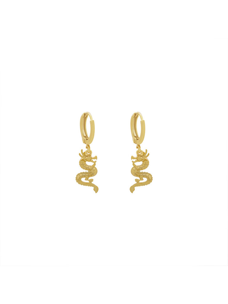 LADYLIKE FASHION Earrings chinese dragon