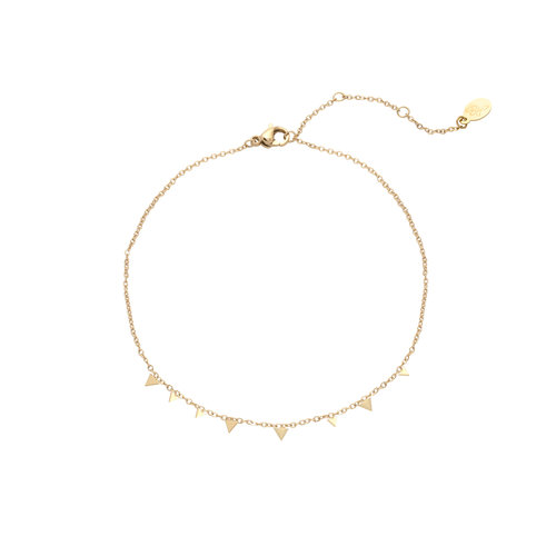 LADYLIKE FASHION Bracelet triangle confetti