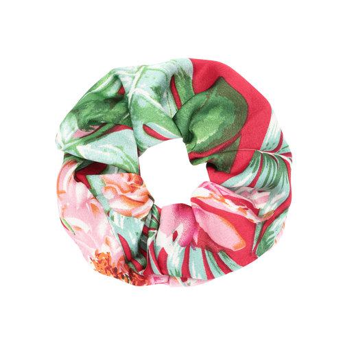 LADYLIKE FASHION Scrunchie Happy Flowers